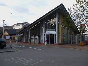 Abbey Wood railway station - Abbey Wood railway station (2008)
