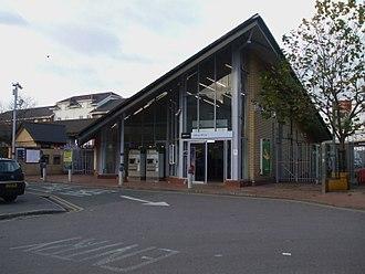 Abbey Wood railway station - Abbey Wood railway station (2008)