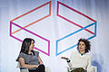 Abbi Jacobson and Ilana Glazer at Internet Week 07.jpg