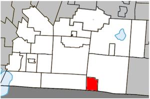 Abercorn, Quebec - Image: Abercorn Quebec location diagram