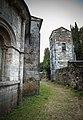 Abside de la Iglesia y Torre de Hospital, Incio, Lugo.jpg
