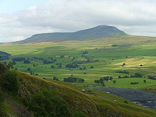 Ribblesdale one of the Yorkshire Dales in England