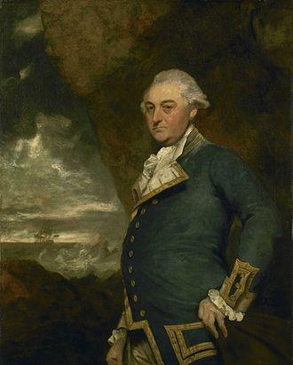 Raid on Genoa - John Gell, Joshua Reynolds, 1786, National Maritime Museum