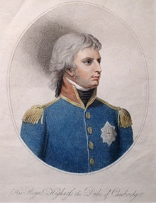 Adolph Friedrich, 1. Duke of Cambridge, als Chef der King's German Legion, 1806 (Quelle: Wikimedia)