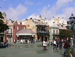 Adventureland at Tokyo Disneyland