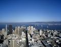 Aerial looking straight down Market Street, San Francisco, California LCCN2011631015.tif