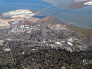 Aerial view of East Palo Alto, September 2019.JPG
