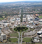 Aerial view of Northbourne Avenue looking north from Civic.jpg