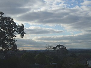 Templestowe, Victoria - Typical view of Templestowe at dusk