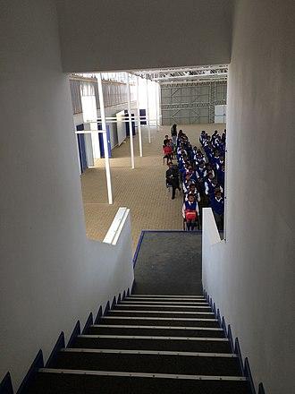 Tsakane - Image: African School of Excellence Tsakane Gauteng school buildings