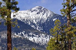 Agassiz Peak - Agassiz Peak in March 2010