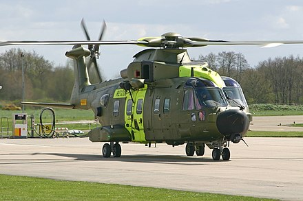 helikopteret typen aw101