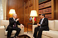 Ahmet Davutoglu and George Papandreou in Greece6.jpg