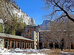 The Majestic Yosemite Hotel.
