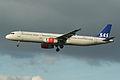 Airbus A321-232 OY-KBB SAS (7133306219).jpg
