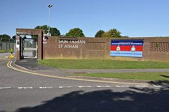 St Athan - Entrance to MOD St Athan