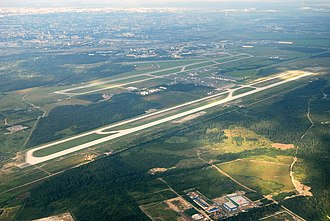 Pulkovo Airport - Airport general overview.
