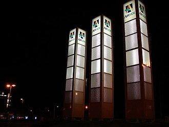 Airside Retail Park - Illuminated signs