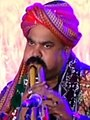 Akbar Khamiso Khan artist, performing at Bhitt Shah, Sindh, Pakistan.jpg