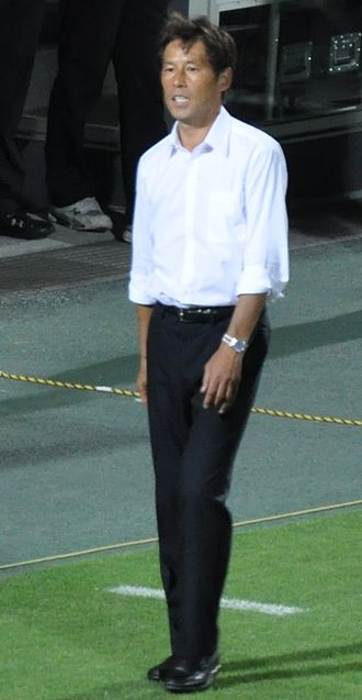 Akira Nishino (footballer) - Nishino managing Gamba Osaka in July 2011