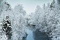Alajoki towards north in Inari, Lapland, Finland, 2017 November - 2.jpg