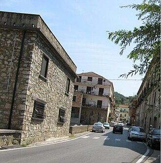 Albanella - Via Roma, Albanella
