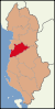 Albania location Tirana.svg