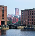 Albert Dock and Liverpool Cathedral - geograph.org.uk - 977850.jpg