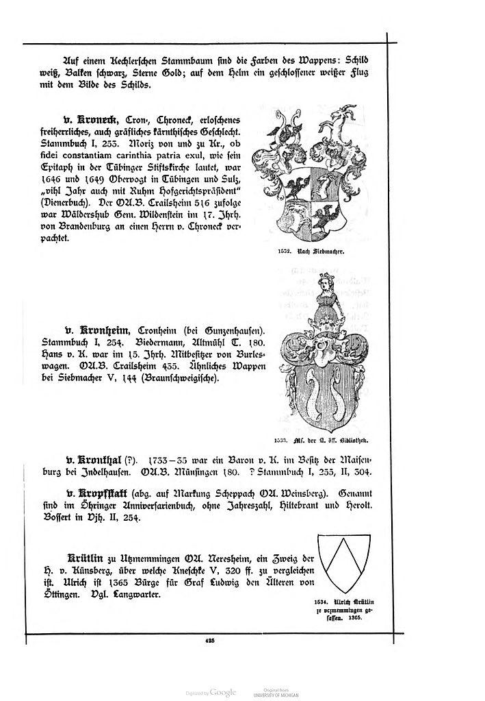 File:Alberti Wuerttembergisches Adels- und Wappenbuch 0425.jpg ...