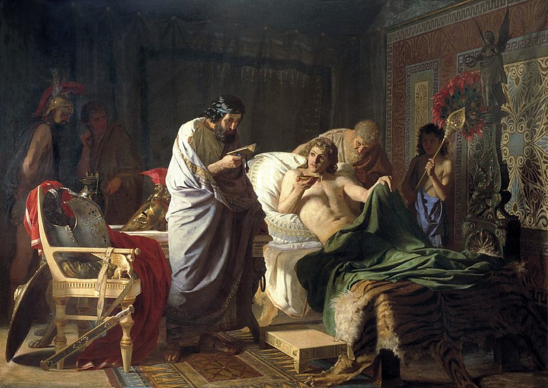 File:Alexander of macedon trust's the doctor Philip, Henryk Siemiradzki.jpg