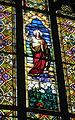 All Saints Catholic Church (St. Peters, Missouri) - stained glass, Sacred Heart of Jesus.jpg