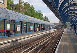 All Saints DLR station MMB 06.jpg