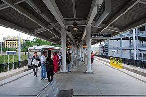 Allegheny (PAT station) - Image: Allegheny Station
