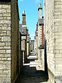 Alley from Taunton Street to Bristol Street, Swindon - geograph.org.uk - 511604.jpg