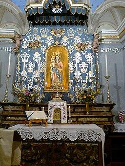 Altare del Santuario della Colletta di Luzzogno (vb)