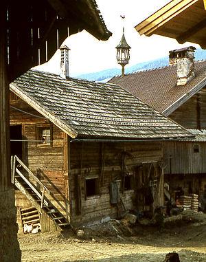 Altenmarkt im Pongau - Image: Altenmarkt en 1967 ferme
