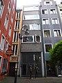Altermarkt Nr. 8a rückwärtige Seite des Hauses - Hanenhaus - Köln - NRW P1010999.JPG