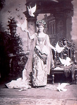 Alva Belmont - Alva Vanderbilt, costumed for her 1883 ball.