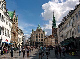 square in central Copenhagen, Denmark