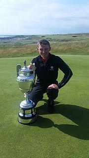Scott Gregory (golfer) British golfer