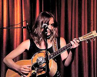 Amber Rubarth - Amber Rubarth playing at the Hotel Cafe in May 2016