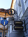 Amberg - Tourist Information (Churfürstliches Mauthaus) - Sign.jpg