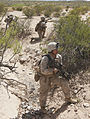 America's Battalion takes Texas, Echo Company fires the first shot 140405-M-WC184-958.jpg