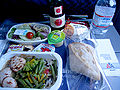 American Airlines.Airline meal.CDG-JFK.2010.JPG