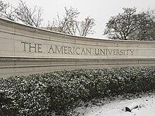 American University Law School >> American University Wikipedia