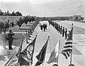 Amerikaanse begraafplaats te Margraten, officieel ingewijd, Bestanddeelnr 911-4050.jpg