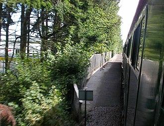 Ampress Works Halt railway station - The former station in 2006
