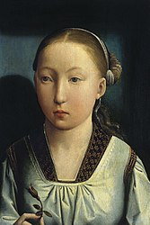 Juan de Flandes: Portrait of an Infanta. Catherine of Aragon (?)