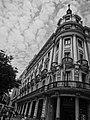 An antique building at the Banco de España Metro stop in Madrid, Spain.JPG