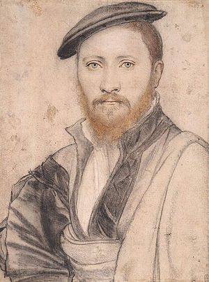 Ralph Sadler - Possible portrait by Hans Holbein the Younger